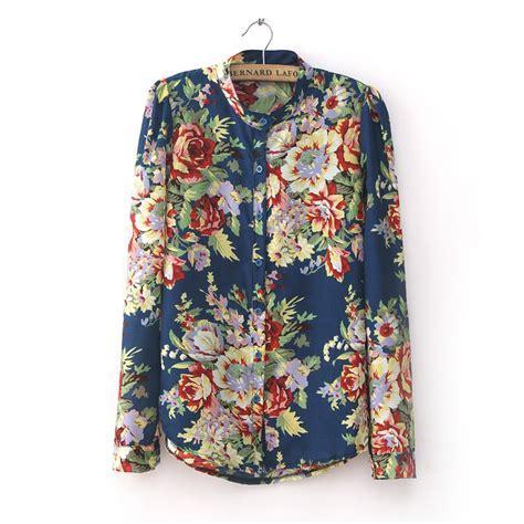 polos moda 2017 flowery shirts womens cool shirts