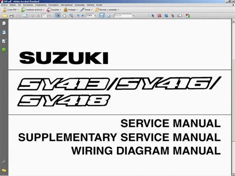 2005 suzuki king quad 700 service manual pdf diagram