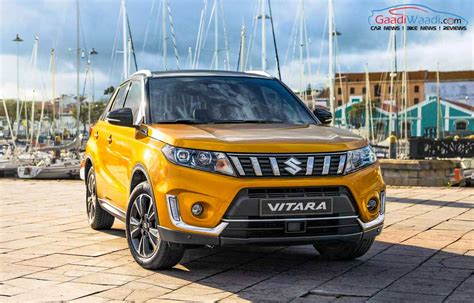 2019 Suzuki Suv by India Bound 2019 Suzuki Vitara Suv Hyundai Creta Rival
