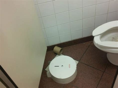 toilet in cing childrens play area filthy picture of burger king
