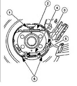 2000 Ford Ranger Brake System Diagram Adjust Parking Brake On 2001 Sport Ford Explorer And