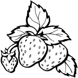strawberry coloring page free coloring pages of strawberry