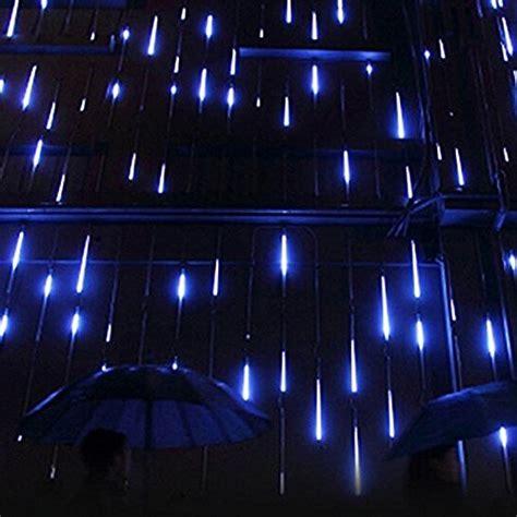 falling rain drop icicle lights surlight led falling lights with 30cm 8 144 leds meteor shower light falling