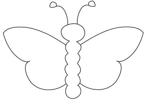 butterfly birthday cake template printable butterfly outline pattern cliparts co