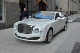 White Bentley Mulsanne Bentley Mulsanne