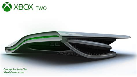 consola xbox xbox 2 console concept by kevin