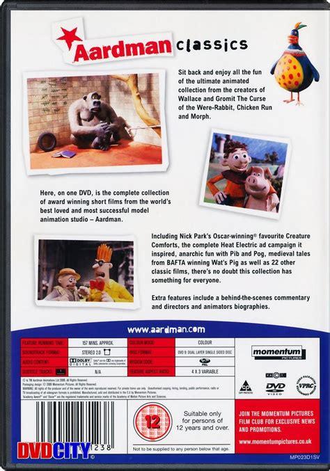 creature comforts electricity ads aardman classics dvdcity dk