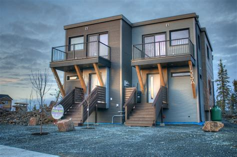 duplex houses efficient modular duplex in yellowknife