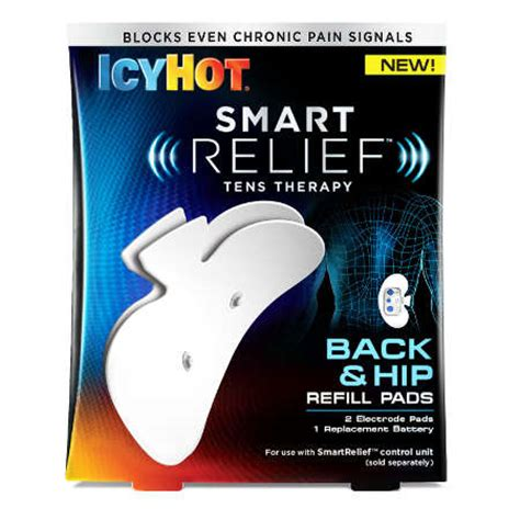 icy hot tens patch icy hot smart relief tens therapy refill kit fsastore