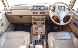 Mitsubishi Pajero Interior 1989 Mitsubishi Pajero