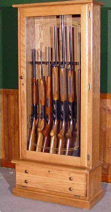 gun cabinet plans images  pinterest gun