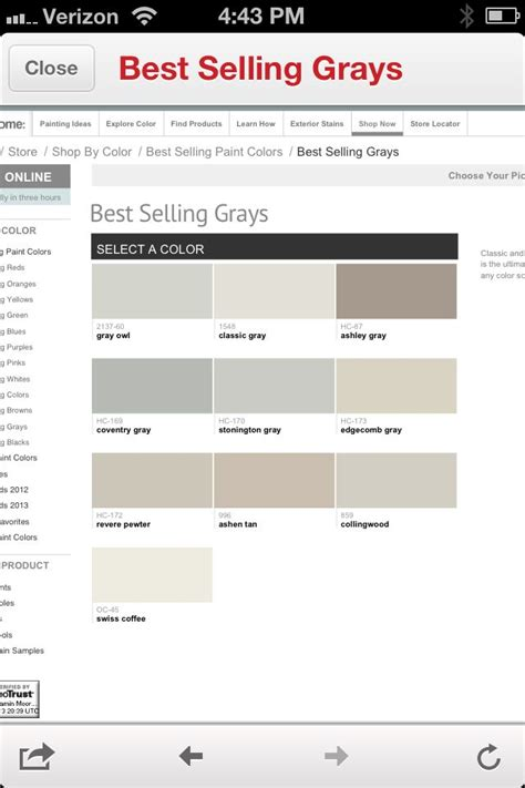 best selling paint 100 best selling benjamin moore paint 2015 best