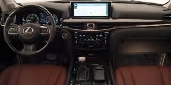 Lexus Suv Interior Comparison Gmc Yukon Denali 2017 Vs Lexus Lx 570