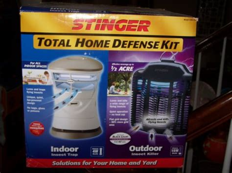 review stinger total home defense kit indoor outdoor inse
