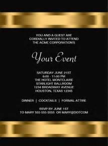 Corporate Dinner Invitation Template by 15 Printable Corporate Invitation Templates Psd Ai