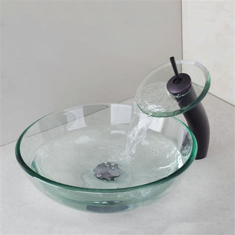 bathroom sinks glass bowls victory glass bowl bathroom sink wash basin oil rubbed