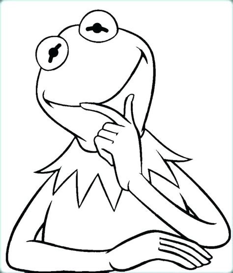 sweet frog coloring page amazing kermit the frog coloring pages gallery exle