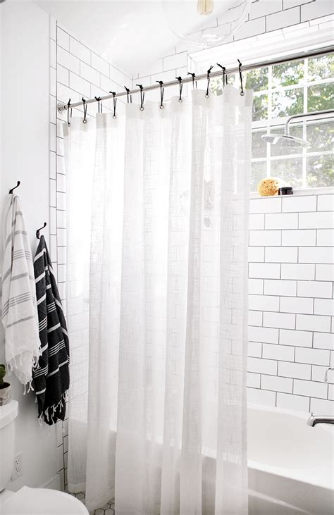 diy shower curtain hooks diy leather shower curtain rings the merrythought