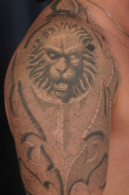 3d lion tattoo designs gallery 3d style design