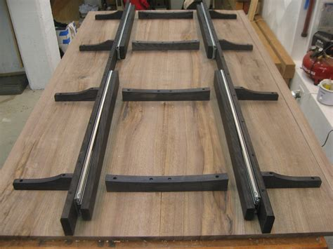 Table Slides by Morton S Shop Adding Support Woodworking