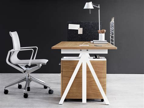 height adjustable desk buy the string works height adjustable desk at nest co uk