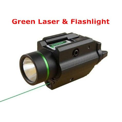 Green Dot W Laser combo metal green dot laser sight led flashlight 200lm 3w with 20mm rail weaver