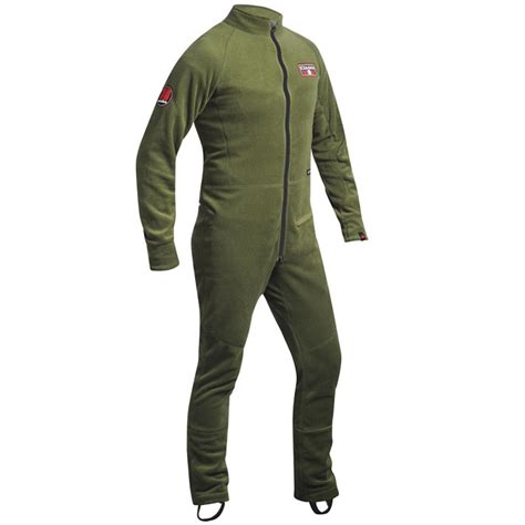 nookie iceman all in one thermal suit green nookie all