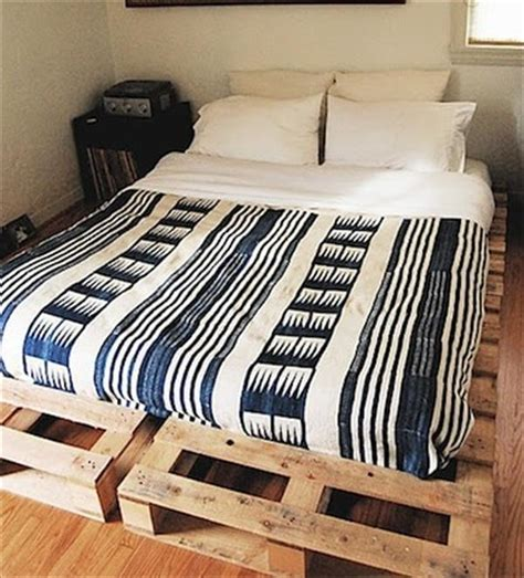 diy simple pallet bed frame diy recycled pallet bed frame ideas with pallets