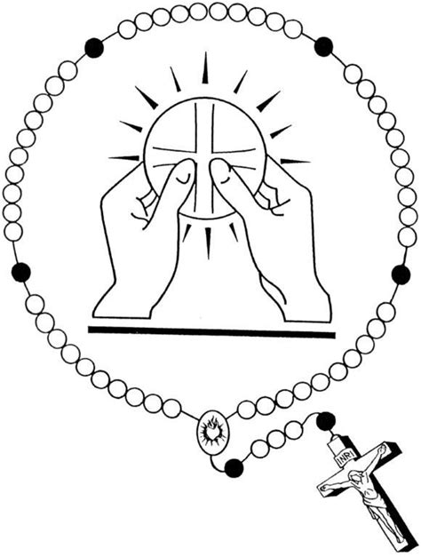 catholic coloring pages eucharist holy eucharist and rosary catholic coloring page