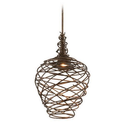 Cottage Pendant Lighting with Troy Lighting Sanctuary Cottage Bronze Led Pendant Light F4184 Destination Lighting