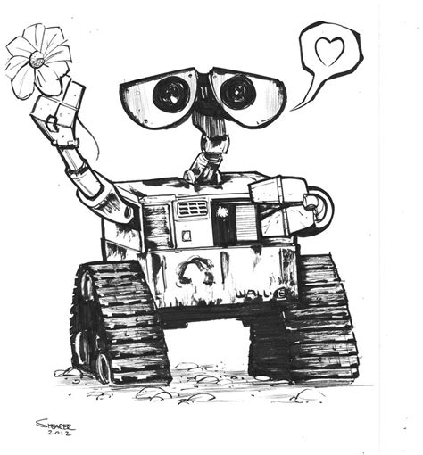 Wall E Sketches by Daily Sketch Wall E By Gravyboy On Deviantart