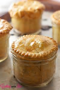 cooking with jax chicken pot pie in mason jars