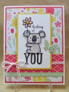 Handmade Cards Australia - stin up set koala on koalas stin