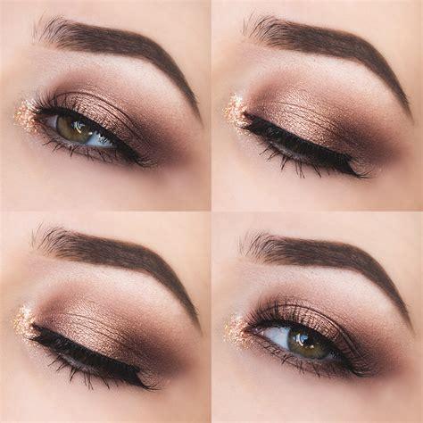 Make Up Eyeshadow glittery autumn gemma louise