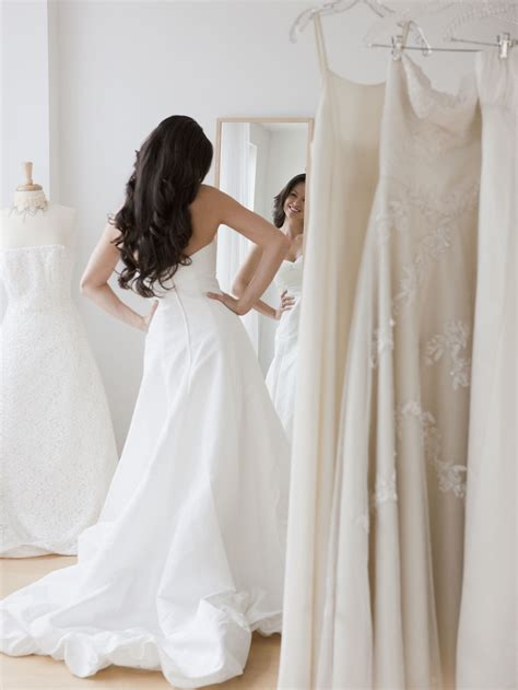 Marriage Dress Shopping by What To Wear When Trying On Wedding Dresses