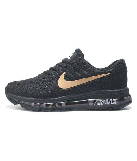 black nike air max running shoes nike air max 2017 black running shoes buy nike air max
