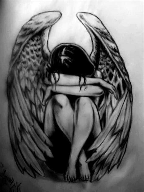 fallen angel tattoo design 60 wonderful fallen tattoos designs with meanings