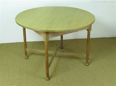 Limed Oak Dining Tables Heal S Limed Oak Circular Dining Breakfast Table Antiques Atlas