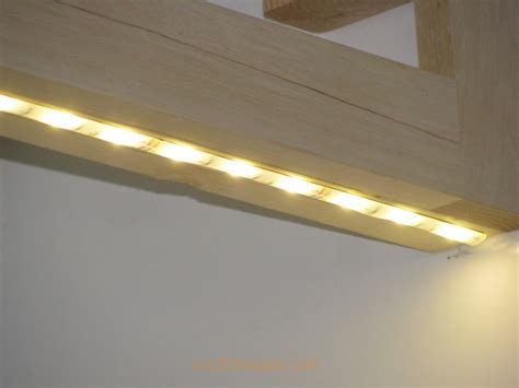 Led strip lighting under cabinet