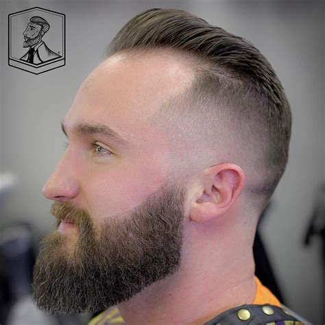 balding or high forehead mohawk fade for receding hairline hairstyles for men