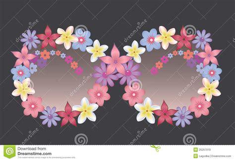 occhiali da sole con fiori occhiali da sole decorati con i fiori immagini stock