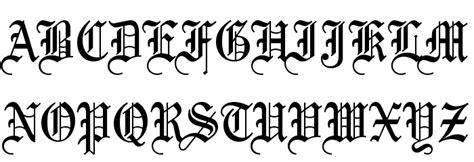 tattoo lettering regular bliss normal fuente