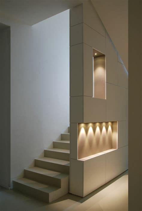 beleuchtung modern moderne schicke treppen beleuchtung archzine net