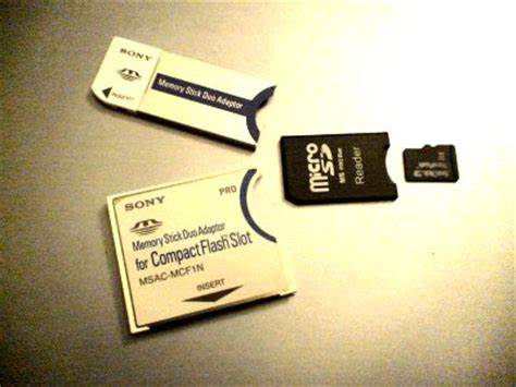 Memory Stick Duo Adaptor To Micro Sd Winfos Ms Pro Duo Murah microsd to memory stick duo adapter