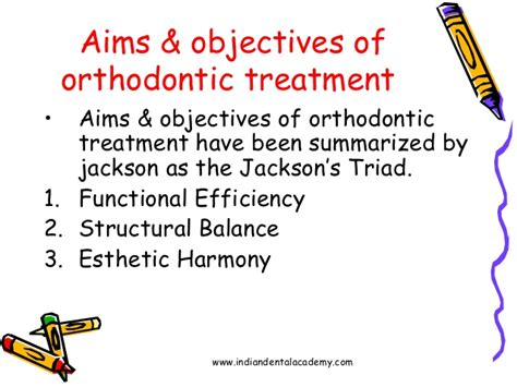 definition aims objectives of orthodontics certified fixed orthodont