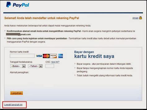 membuat paypal melalui hp cara membuat akun paypal untuk menerima pembayaran dari