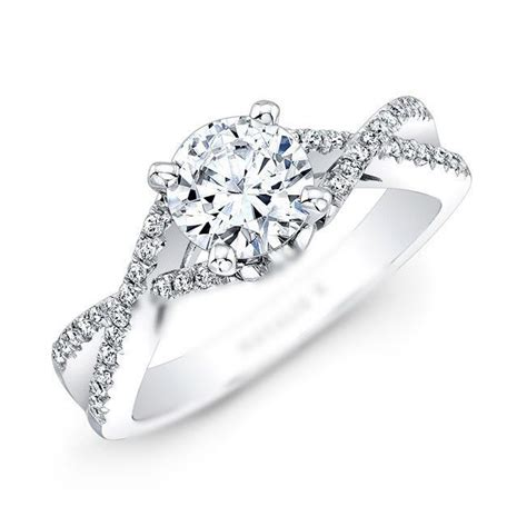 wedding bands for twisted engagement rings 1000 ideas about engagement rings on