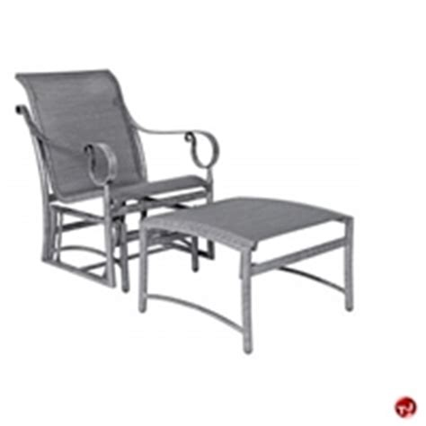 outdoor glider with ottoman the office leader outdoor ottomans