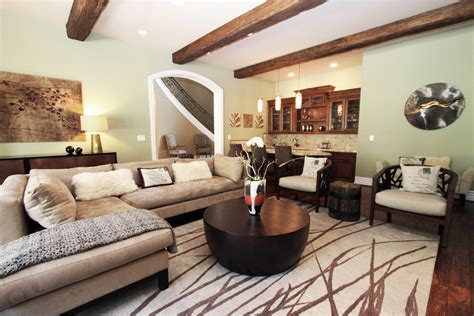 Novelty Room Decor by Cozy Family Room Decorating Ideas With Sectional And