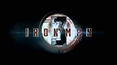 marvels iron man official logo teaser theaters